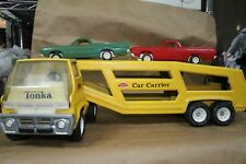 Vintage 1970's Tonka Super Car Carrier Yellow