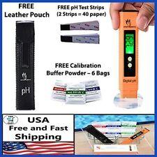 Digital pH Meter Tester Kit Pen Test For Water Quality Food Pool Aquarium Soil