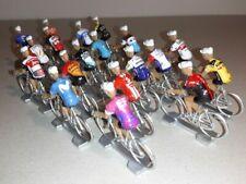 19 cyclistes miniatures World Teams 2020 - Tour de france Giro - Cycling figure