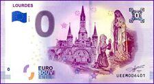 UE EM-2a / LOURDES / BILLET SOUVENIR 0 € / 0 € BANKNOTE 2019-2