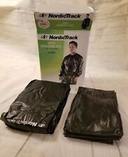 Nordic Track Vinyl Reducing Suit Size XL Health and Fitness
