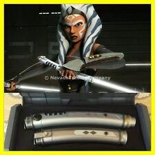 AHSOKA TANO SEALED STAR WARS GALAXYS EDGE LEGACY LIGHTSABER NEW DISNEY EXCLUSIVE