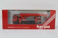 Herpa 806513 Mercedes Fire Turntable Vehicle LHD 1/87 Scale HO Gauge Plastic W10