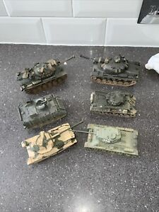 Vintage Corgi Toys Military Die Cast Vehicle Job Lot X 6