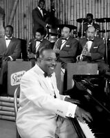 Jazz Bandleader COUNT BASIE Glossy 8x10 Photo Pianist Poster Music Print