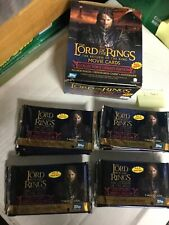 Lord of the Rings 31 sealed packs card lot deal