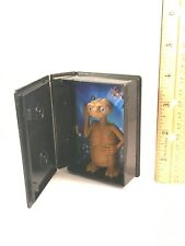 "Plastic E.T. Movie Toy VHS Case Light Up Figure Toy 3 7/8"" Tall"