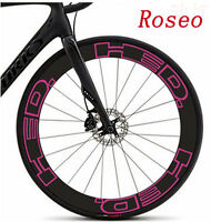 HED wheel rim stickers for 700C Road Bike Carbon Clincher race cycling decals