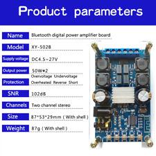 Digital Amplifier Bluetooth Power Board Module Dual Channel 50Wx2 with shell