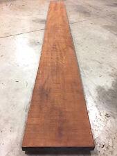 "Honduran Mahogany, Genuine Exotic Wood Lumber 1-1/4"" x 10-1/2"" x * 111"" *, KD"