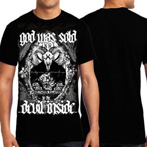 Killers Never Die Devil Inside Pagan Unhollywood Killafornia Mens T-Shirt Black