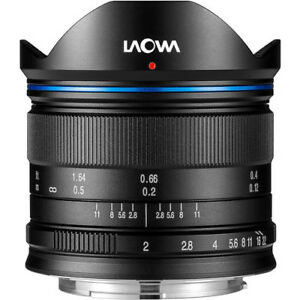 New Venus Laowa 7.5mm f/2 Lens for Micro Four Thirds Mount Black FREE SHIP