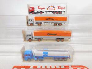 CA247-0, 5 #4x wiking 1:87/H0 Lorry Man: 801+541 27+517 +24 517 Mint +Box