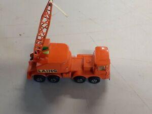 Matchbox Super Kings Scammell Mobile Crane K - 12 lesney England