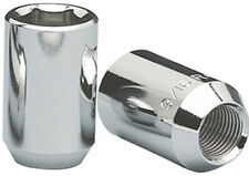 Set of 20 Chrome 12x1.25 Tuner Acorn Open Ended Hex Lug Nuts 1989-2011 with Key