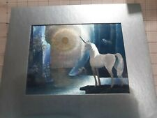 New ListingUnicorn Metallic Painting