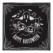 Halloween Warm Sofa Fleece Throw Blanket Black Happy Halloween Bed Blanket Soft