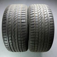 2x Continental CrossContact UHP MO 295/40 R21 111W DOT 4915 8 mm Reifen