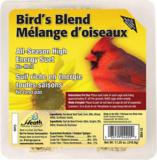 New listing Heath Outdoor Products Dd4-12 Birdie's Blend Suet Cake, 11.25 oz., Case Of 12
