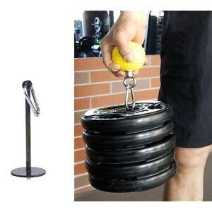 Weight Lifting Dumbbell Bracket Rack Fitness Grip Ball Holder Arm Exercise Sport
