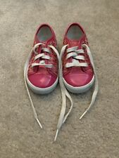 Michael Kors MK Toddler Girls Signature Sneakers Size 8 Pink