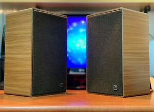 GRUNDIG BOX-650 (1977) 🔥RARE VINTAGE🔥 German Stereo HIFI Bookshelf Speakers