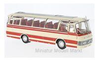 #BUS011 - IXO Neoplan NH 9L - beige/rot - 1964 - 1:43