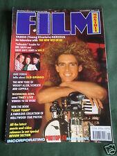 FILM MONTHLY - NOV 1989 - YAHOO SERIOUS - JANE FONDA - KEVIN COSTNER