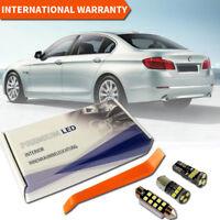 BMW 5 Series F10 Full LED Interior Premium Set 21 SMD Bulbs White Error Free