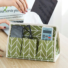 Storage Box Linen Toy Basket Cotton Organizer Desk Laundry Tidy Container SA