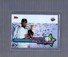 2005 Topps Own the Game #OG28 Johan Santana Minnesota Twins Insert