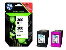 HP 300 2-Pack Negro/Tri-Color Original Cartuchos De Tinta (CN637EE)