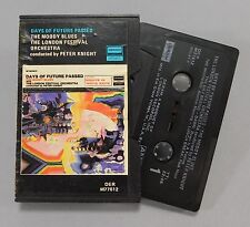The Moody Blues, Days of Future Passed, Deram M77612, Ampex Clamshell Cassette