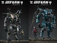 JOYTOY 1/25 God of War 86 Mecha Middle-sized Action Figure Robot Set of 2