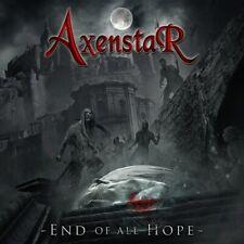 AXENSTAR - END OF ALL HOPE (LIM.180 GR.CLEAR RED VINYL)   VINYL LP NEU