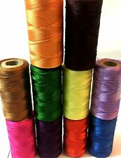10 vibrant Embroidery Spools Sewing Machine Silk Threads BROTHER-JANOME-GUTERMAN