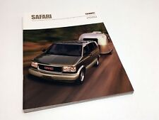 2000 GMC Safari Brochure