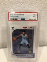 Ja Morant Rookie Card #259 NBA HOOPS RC PSA 9 MINT 🔥