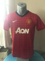 MANCHESTER UNITED 2012/13 Football Shirt Soccer Jersey Maillot Trikot Camiseta