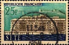 FRANCE - FRANCIA - 1958 - Città Ricostruite - 25 f. Séte