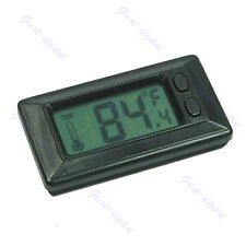 Car Vehicle Digital LCD Thermometer Temperature Meter Celsius Fahrenheit New
