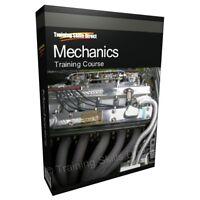 Mechanic Mechanics Car Auto Training Study Course Manual CD