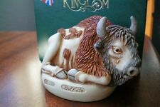 Harmony Kingdom O Give Me a Home Buffalo Bison Box Figurine Uk Made Nib