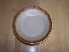 Mikasa WHOLE WHEAT Set of 8 Rimmed Bowls 8.5 in E8000