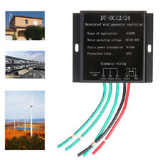 DC 12V 24V 100W-500W Wind Turbine Generator Battery Charge Controller Regulator