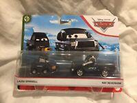 Disney Pixar Cars LAURA SPINWELL RAY REVERHAM 2020 1:55 DIECAST TOKYO DRIFT