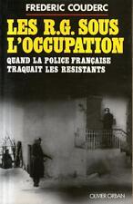 LES R.G. SOUS L'OCCUPATION / FREDERIC COUDERC / Ref 50063