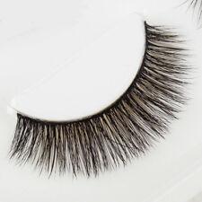 120# New 3D Beautiful 3Pairs 100%Handmade Natural Thick Long False EyeLashes