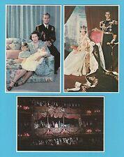 ROYALTY  -  PRESCOTT PICKUP  - 3  BRITISH  ROYAL  FAMILY  POSTCARDS  (C)  - 1983