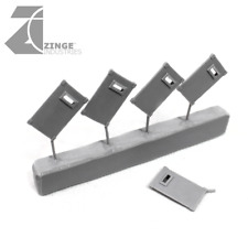 Zinge Industries Human Armoury Riot Shield Sprue Set of 5 Human S-MEL01 New Bits